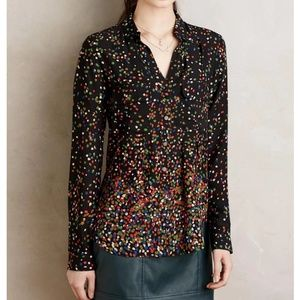 Anthropologie Maeve Buttondown
